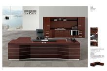 Impression hottest modern design executive table customized products office desk solid wood executive table