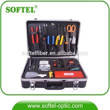 (Softel)Fiber Network Equipment High Quality Optical Fiber Tool Box Ftth Fiber Optic Tools Kit