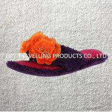 Preimum quality indoor,bedroom,house use ladies Tropical Flower Flip Flops