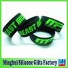 beast mode muscle pharm engraved custom silicone bracelet