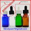 20ml overstock cobalt blue liquid nicotine glass dropper bottles