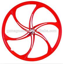 6 spokes bicycle wheel 26 inch wheels spoke wheel rim