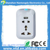 Smart wifi plug socket Factory OEM & ODM Remote Control Home Automation