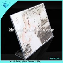 acrylic lovely photo frames holder