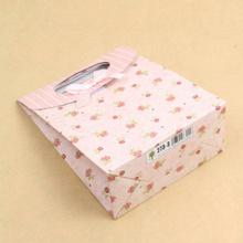 quente popular dom saco de papel com o pai natal impressão