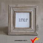 square eco wood material decorative design paper photo frames