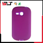 Slim shell impact flexible protector cover for samsung galaxy fame lite s6790 case