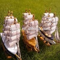 wooden ship modle for sale decoration medieval ship for decoration sailing ship 40cm