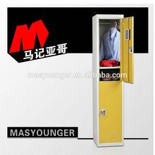 2 tiers steel school locker, metal school furniture for sale