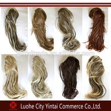 Amazing new products on china market wholesale braid ponytail