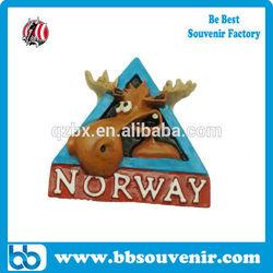 wholesale Norway souvenirs fridge magnet resin magnet