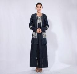 India islamic muslim women abaya(man thobe)clothing pakistani designer long kurtis 2013