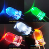 5mm super bright led in various color red , blue , green, yellow, amber, white 25000-30000mcd
