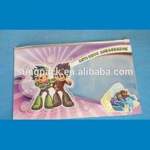 Cartoon vinyl pvc pencil bags for kids