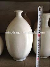 chinese antique porcelain/white flower vase