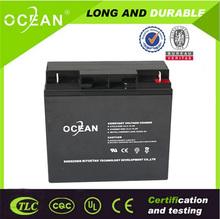 Long life maintenance free sealed valve regulated OEM/ODM 12v 6ah battery