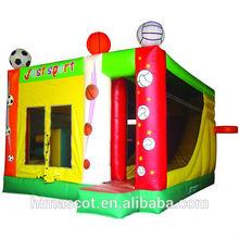 HI EN14960 0.55mmPVC inflatable pirate ship bouncer cheap inflatable bouncer