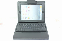 For Apple iPad 2 3 4 Stand PU Leather Case Cover With Removable Bluetooth Keyboard