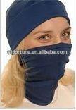 new design solid color pure silk balaclava