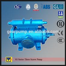 3G maritime vessel pump new three screw pumps made in China