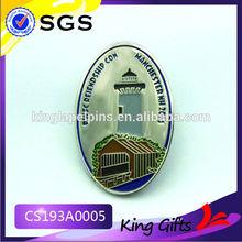 promotional metal pin Target Lapel Pin lapel pins china