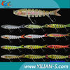 2014HOT SELL big game fishing lures,6inch segments artificial bait!