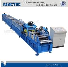 European standard high quality galvanised c z purlin making machine