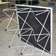 Portable outdoor performance stage aluminum stage modular stage