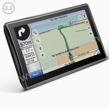 factory newest 2014 truck gps navigator with bluetooth and avin 4GB Memory