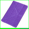 cool leather stand tablet case for ipad mini