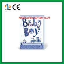 New born baby greeting card,3d handmade greeting card