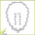 joyería de plata chapada conjunto