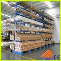 Ajustable placa de madera estante voladizo, voladizo de elevación para arriba, sistema de estanterías cantilever