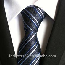 Popular custom stripe polyester neckties