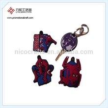 Popular Film Spider-man Soft PVC Key Cover