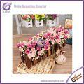 K1227cheap pote arranjos de flor artificial com vaso