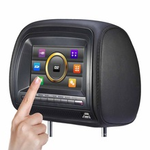 Super function stable quality 7 inch Sony lens headrest new touch panel portable dvd player fast delivery