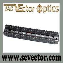 Vector Optics Two Pieces Generalism RIS Precision Low Profile Tactical Aluminum Handguard Quad Rail Long
