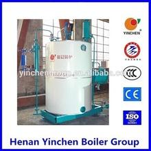 LSS vertical diesel oil steam boiler, wall mounted gas boiler,steam boiler