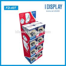 pop cardboard floor display, Point of sale cardboard display for tea products