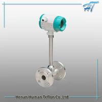 Flange Card Type Diesel Fuel,Nature Gas Vortex Flow Meter(Water,Gas,Steam)