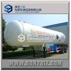 40000L BPW double axles LPG tank semi trailer on sale