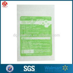 Walmart FDA test zip lock plastic sealed bag sandwich bag