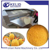 Automatic 150kg Bread Crumbs Making Line