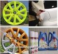 L'application par pulvérisation méthode jante de voiture de peinture en aérosol graffiti de peinture plastidip 400ml amovible
