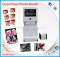 De la boda y artículos para fiestas 22 '' de doble pantalla plegable Photo Booth atrezzo para alquiler negocio