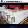 Modern Elegant acrylic bar counter music&coffee&water bar counter designs