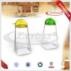 2014 New Product,Silicone Oil Vinegar Cruet Set Salt and Pepper Cruet