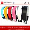 New unique fashion foldable wireless bluetooth stereo headset bluetooth headset hb23 / cheap stereo bluetooth headset