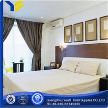 full bed Guangzhou satin fabric modern print adult bedsheet
